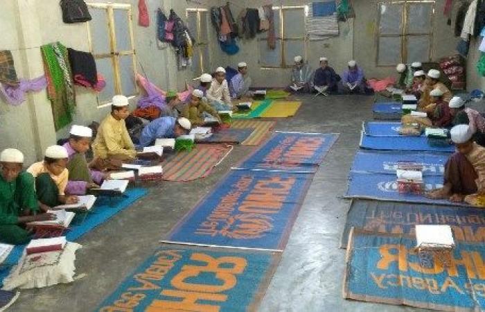 أطفال الروهينغا في بنغلادش محرومون من التعليم