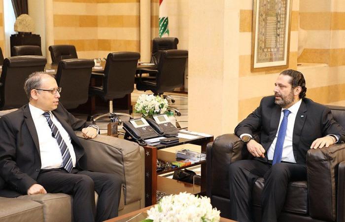 الحريري والنجاري تابعا نتائج اجتماعات اللجنة المصرية اللبنانية