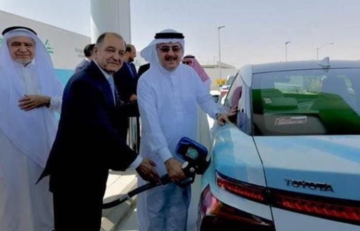 'أرامكو' تدشن أول محطة وقود هيدروجيني في السعودية