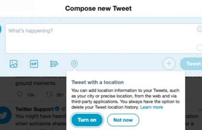تعرف على سبب إلغاء تويتر خاصية موقع المستخدم الجغرافي