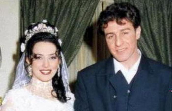 صورة نادرة من زفاف سلاف فواخرجي في العام 1999!
