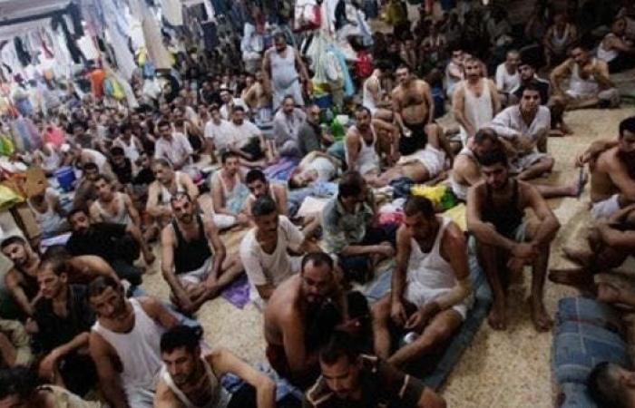 """العراق   """"حقوق الإنسان"""" تشرح """"تعاسة"""" أوضاع السجون العراقية"""