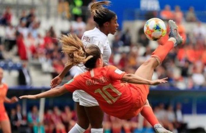 هولندا تفوز على كندا في ختام دور المجموعات بمونديال السيدات