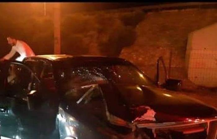 فنان لبناني يتعرض لحادث سير في الأردن.. والعناية الإلهية تنقذه