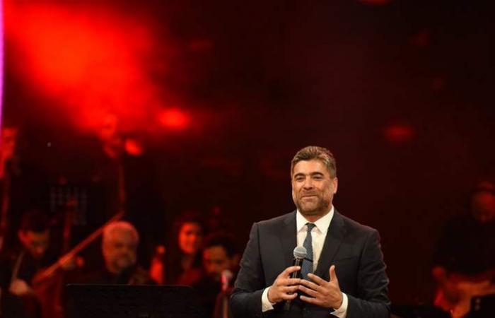 'قديم' وائل كفوري يضيء 'مهرجانات طرابلس الدولية' (فيديو)