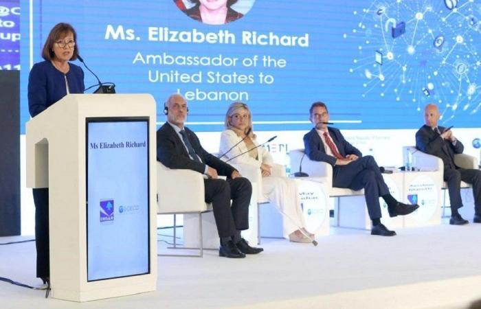 السفيرة الأميركية: ندعم خطة لبنان الوطنية للوصول الى المعلومات