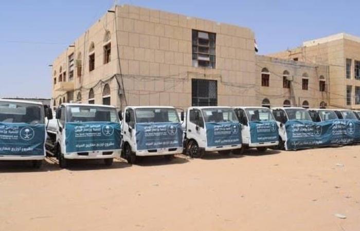 اليمن | 10 صهاريج من السعودية لدعم قطاع المياه في الجوف اليمنية