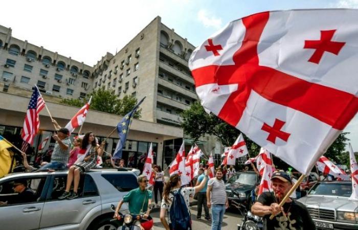 تظاهرة في جورجيا بعد توجيه الاتّهام لزعيم معارض بالتحريض على العنف