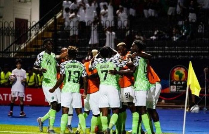 نسور نيجيريا يحلقون نحو الدور الثاني من كأس الأمم الإفريقية