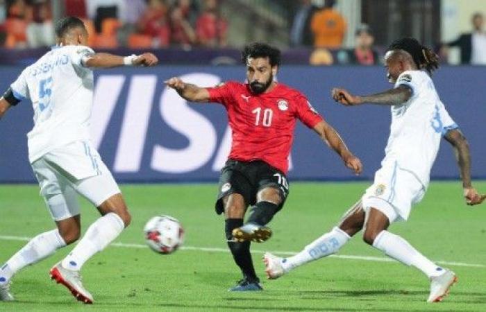 مصر تتجاوز الكونغو الديمقراطية وتتأهل لثمن نهائي كأس أمم افريقيا