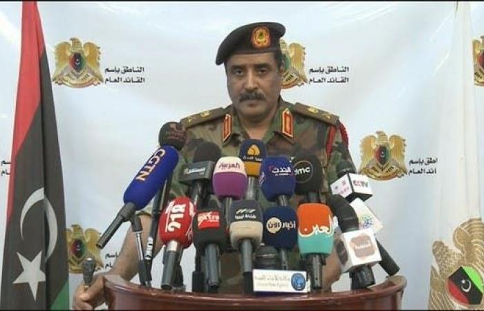 المسماري: الجيش الليبي لم يلق القبض على أي مواطن تركي
