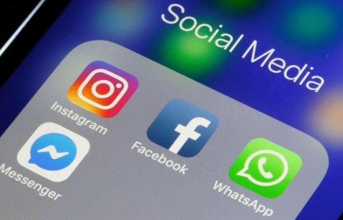 خلل مفاجئ يضرب خدمات فيسبوك وإنستغرام وواتساب بالعالم