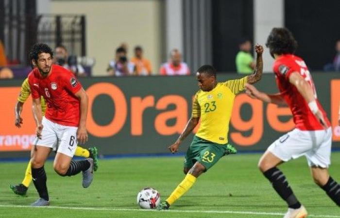 مصر خارج كأس أمم أفريقيا بخسارتها من جنوب أفريقيا في ثمن النهائي