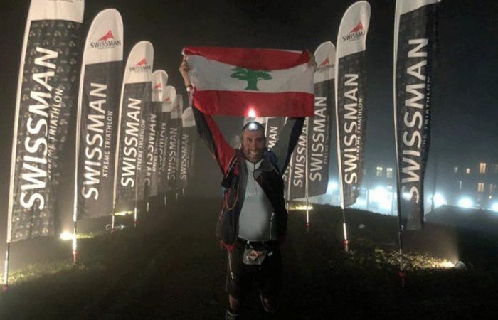ليندوس ضو يرفع إسم لبنان في جبال الألب