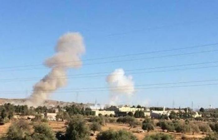 تمهيدا لاستعادتها.. غارات عنيفة للجيش الليبي على غريان