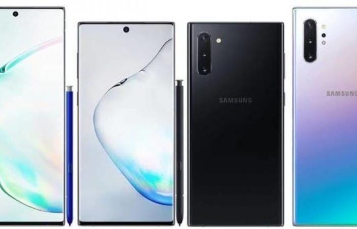 تسريبات: الصور الرسمية لهاتف سامسونغ Galaxy Note 10