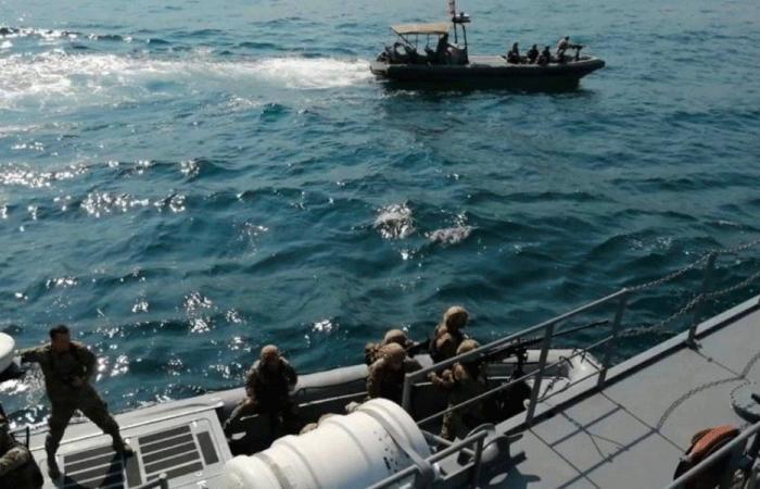 مناورة لبحرية الجيش بإشراف أميركي