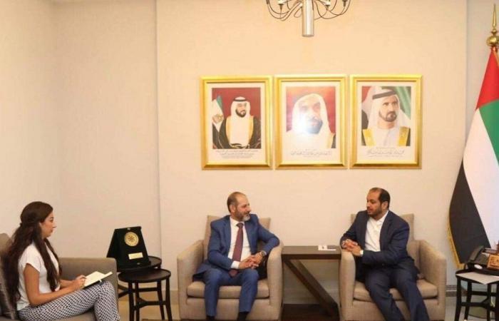 """رئيس """"السرياني العالمي"""": شركاء مع الإمارات في ترسيخ السلام"""