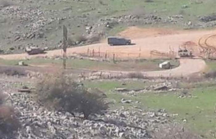 مسح للأراضي في ميس الجبل والمتاخمة للحدود مع فلسطين
