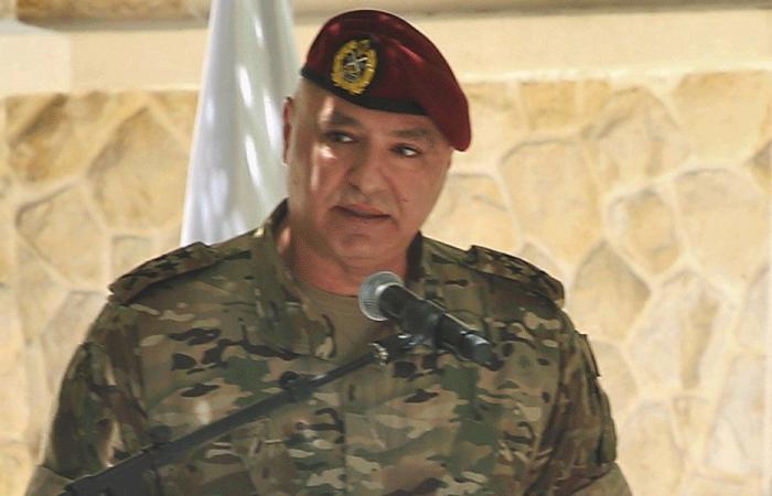 قائد الجيش استقبل عوكر والملحق العسكري الكويتي