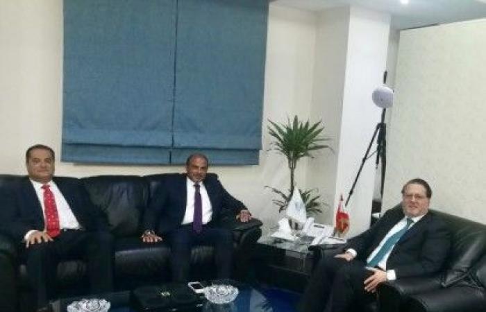 شقير عرض مع سفير لبنان في المغرب زيادة التعاون الاقتصادي بين البلدين