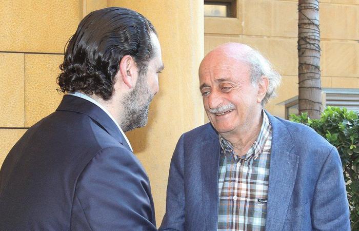 لقاء الحريري وجنبلاط: مقاربة مشتركة لعناوين المرحلة المقبلة