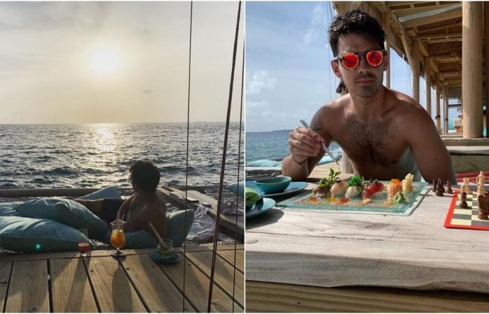 صوفي تيرنر وجو جوناس يعيشان شهر عسلٍ فاخر في جزر المالديف!