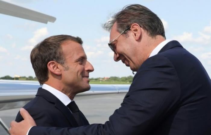 ماكرون في صربيا لتعزيز نفوذ فرنسا
