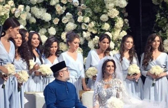 بعد زواج مثير للجدل.. ملك ماليزيا السابق يطلق زوجته