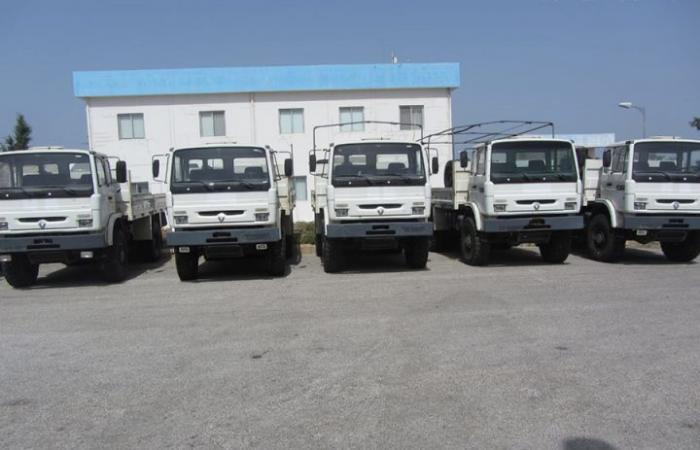 بالصور: الجيش يتسلّم معدات اميركية جديدة
