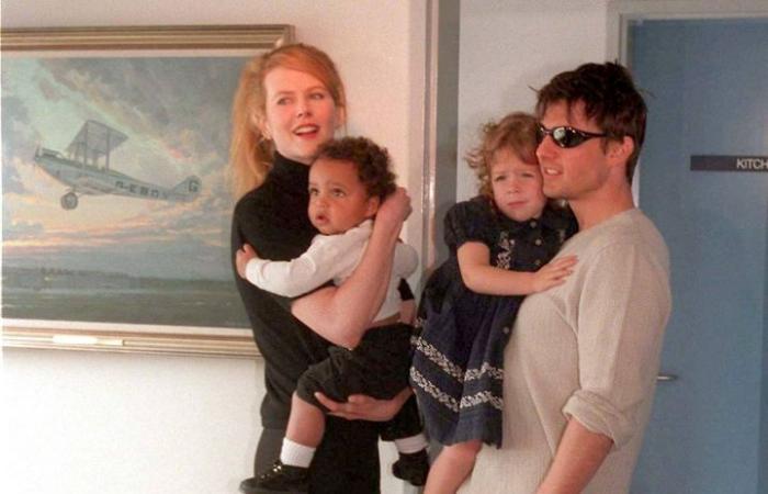 الكشفُ عن طريقةِ تعامل توم كروز مع طفليهِ لإجبارهما على قطيعةِ والدتهما!
