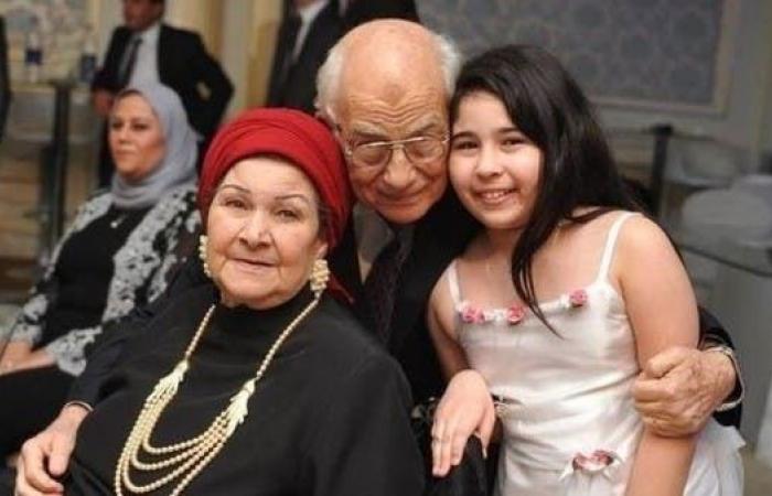 رحيل زوجة الفنان رشوان توفيق.. قصة حب استمرت 60 عاما