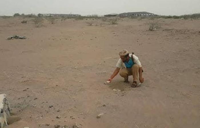 اليمن | شاهد.. اكتشاف وتفكيك أكبر حقل ألغام حوثي في الحديدة