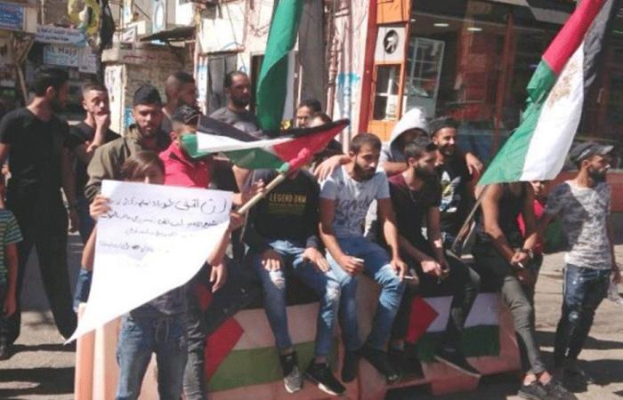 """مسيرة جابت شوارع صيدا احتجاجا على قرار """"العمل"""""""