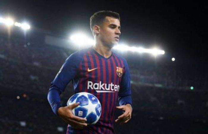 كوتينيو يلمِّحُ إلى إقتراب رحيله عن برشلونة