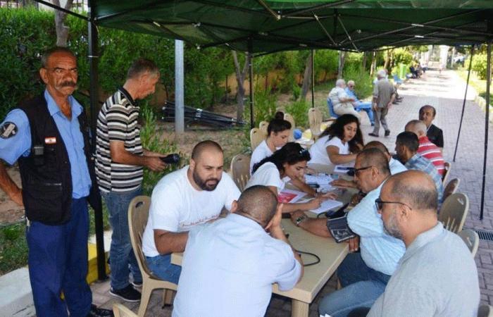 حملة مجانية لوزارة الصحة في طرابلس