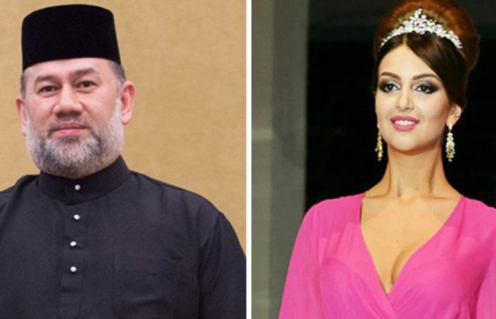 زوجة ملك ماليزيا المتنحي تتحدى شائعات طلاقها بهذا الفيديو