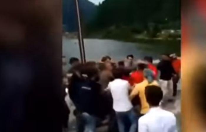 العراق | بالفيديو.. ضرب مبرح لسياح عراقيين بمدينة طرابزون التركية