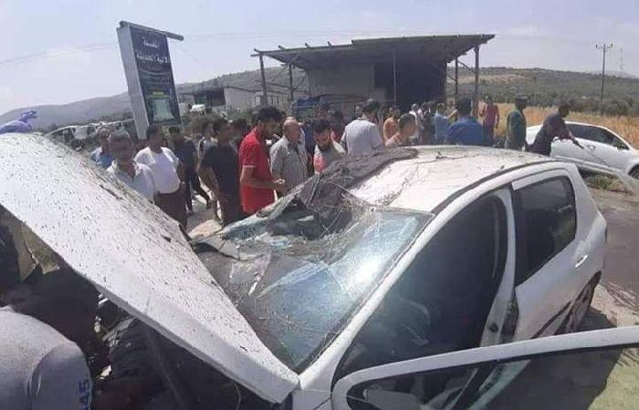 فلسطين | إصابات بحادث تصادم بين مركبتين غرب رام الله