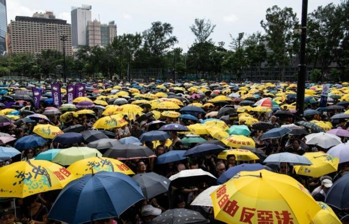 تظاهرة جديدة صاخبة ضد الحكومة في هونغ كونغ