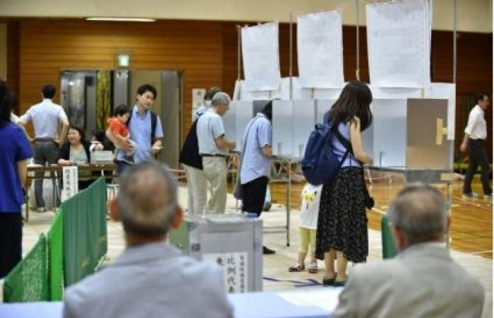 انتخابات لتجديد نصف مقاعد مجلس الشيوخ في اليابان