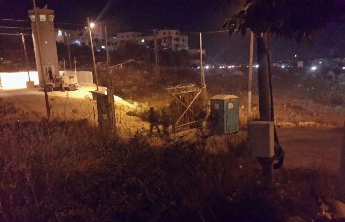 فلسطين | حريق لمعدات عسكرية إسرائيلية متطورة في الخليل