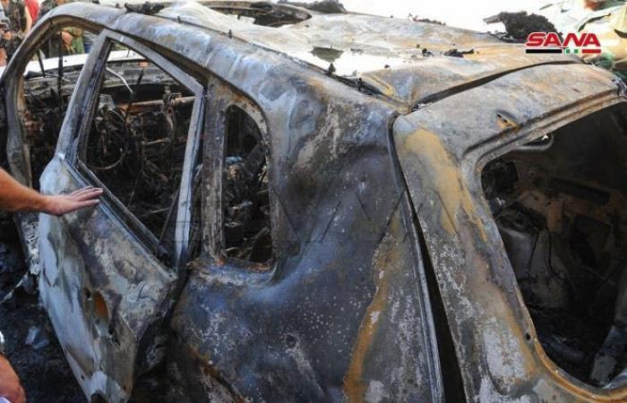 سوريا | دمشق.. مقتل مدني بانفجار عبوة مزروعة في سيارة