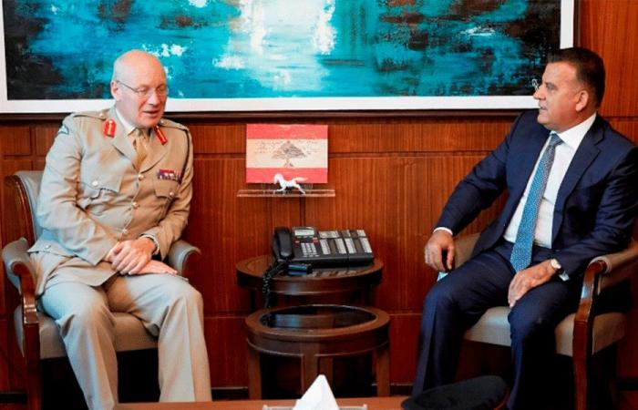 إبراهيم عرض مع مسؤول بريطاني الأوضاع في لبنان والمنطقة