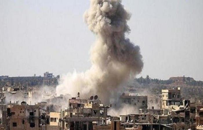 سوريا   سوريا.. مقتل 16 شخصاً في غارات روسية على سوق خضار