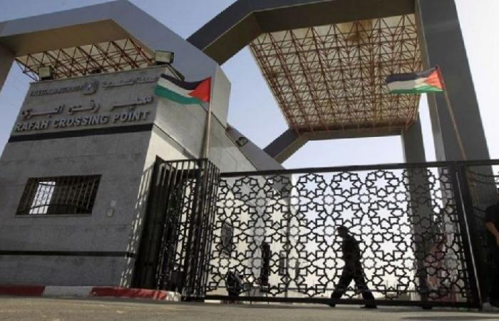 فلسطين   معبر رفح مغلق بالاتجاهين غدًا