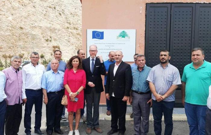 جولة لسفير السويد في بلدة زوطر الشرقية-النبطية