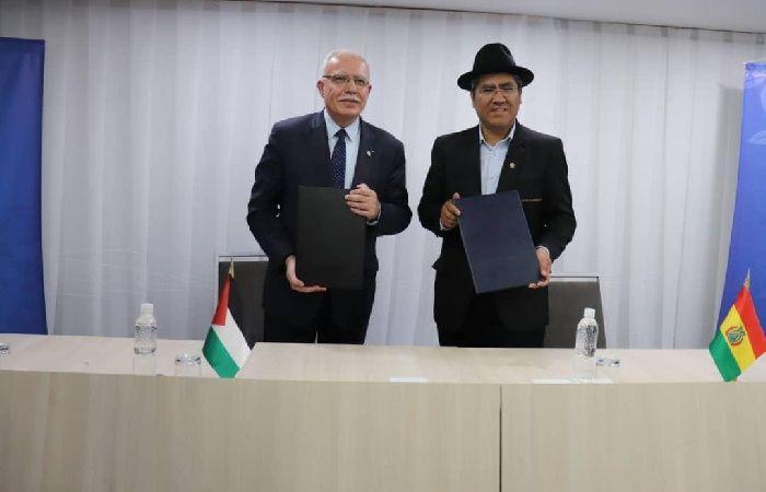 فلسطين | فلسطين وبوليفيا توقعان اتفاقية تعاون تنموي