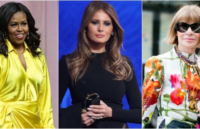 لماذا تجاهلت آنا وينتور الحديث عن ميلانيا ترامب وأشادت بميشيل أوباما؟