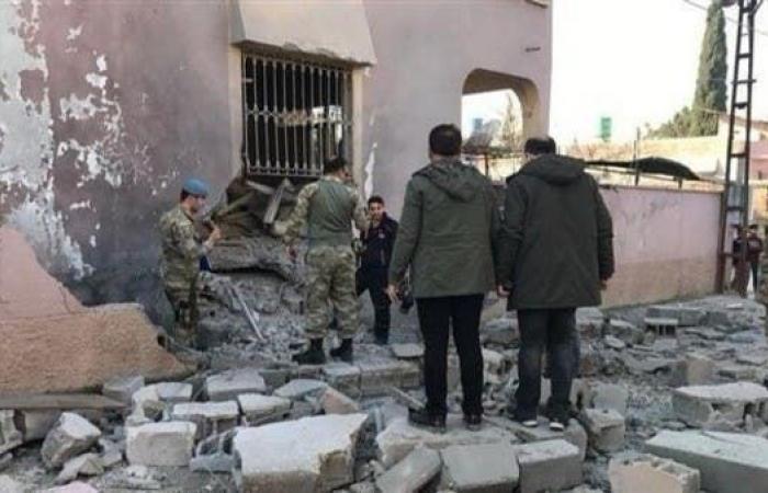 سوريا | إصابة 5 أشخاص جراء قذيفتين أطلقتا من سوريا على بلدة تركية